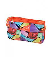 Яркая женская сумка клатч