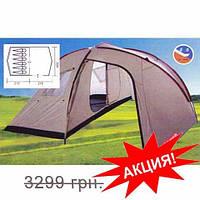 Большая 6-ти местная палатка с тамбуром Coleman