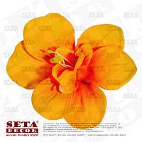 """Оранжевый Гавайский цветок""""Орхидея""""  в волосы (заколка, резинка)"""