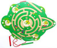 """Игрушка-лабиринт шарики и магниты """"Черепашка"""""""