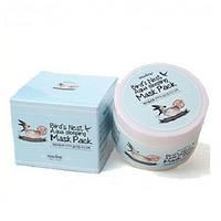 Ночная маска для лица на основе ласточкиного гнезда  Imselene Korea Bird's Nest Aqua Sleeping Mask Pack