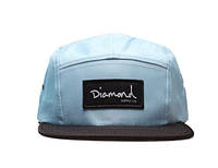 Кепка Diamond Supply Co Snapback Blue-Black