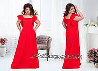 Модное женское платье Анжелика,размеры 50-56 в расцветках
