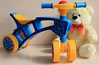 Детский велосипед толокар Ролоцикл пластик Технок