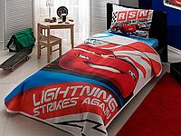 Подростковый постельный комплект Cars Lightning, TAC