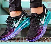 Женские стильные кроссовки Nike Air Max 2015 Violet Blue