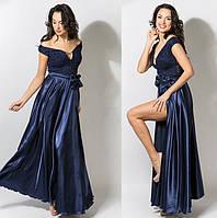 П1028 Платье  вечернее с вырезом