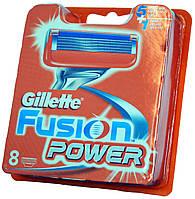 Сменные кассеты Gillette Fusion Power (8 картриджей)