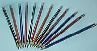 Графитный карандаш треугольный с ластиком Marco Grip-Rite 9001EM-48CB
