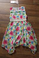 Шифоновое платье для девочек 4- 12 лет