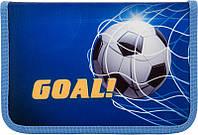 Пенал c наполнением для мальчика  Goal (Гол) Kite