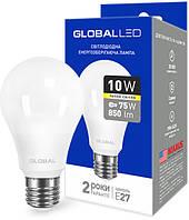 Светодиодная лампа GLOBAL LED 1-GBL-163 А60 10W 3000K