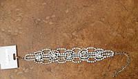 Модный браслет с кристаллами для выпускного бала