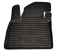 Полиуретановый водительский коврик для Citroen C4 Picasso II 2013- (AVTO-GUMM)