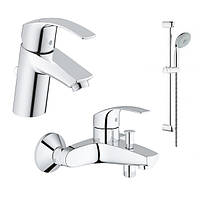 Набор для ванной комнаты 3 в 1 Grohe Eurosmart NEW