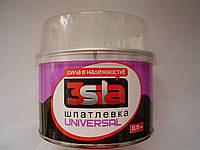 Автомобильная шпатлевка универсальная 3Sila (0.5 кг)