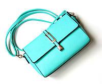 Женская сумка Pinky мятная, сумка через плечо