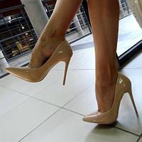 "Туфли ""Christian Louboutin"" бежевые"