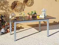 Садовый стол Haversham Classic Extending Dining Table in Grey and Black