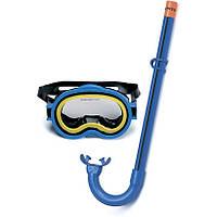 Набор для плавания Intex 55942 от 8лет, набор маска+трубка, набор для подводного плавания Intex