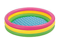 """Детский надувной бассейн """"Радужный"""" Intex 57412 114*25см, детский бассейн, бассейн интекс, бассейн для детей"""