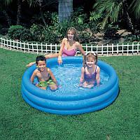 Детский надувной бассейн Intex 58426 Crystal Blue 147*33см, бассейн интекс детский, бассейн для детей