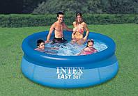 Надувной бассейн Intex 28110 (56970) 244*76см, надувной бассейн для дачи, надувной семейный бассейн intex