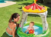 """Детский бассейн """"Королевский Замок"""" 57122 Intex 122х122см, надувной детский бассейн, бассейн для малышей"""