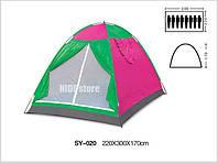 Туристическая палатка SHENGYUAN 8 SY-020, палатка 5 местная, летняя палатка, палатка туристическая трекинговая