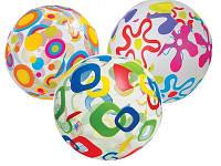 Детский надувной мяч Intex 59040 (51 см), надувные мячи для детей, надувные шары, детские надувные игрушки