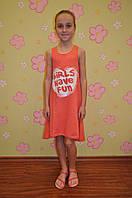 Детское летнее платье сарафан