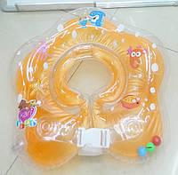 Детский круг для купания на шею BT-IG-0018 4 цвета, круг для малышей, надувной круг для купания младенцев