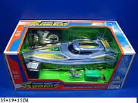 Радиоуправляемый катер MK5017 35*19*15 см, катер на пульте, игрушка катер на радиоуправлении