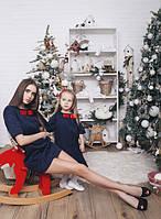 Family Look Парные платья-футляр для мамы и дочки
