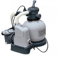 Хлоргенератор 220V-240V + песочный фильтр для дезинфекции воды Intex 28676, песочный фильтр для бассейна
