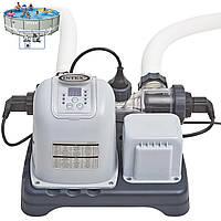 Хлорогенератор DELUXE SALTWATER SYSTEM Intex 28670, хлоргенератор 220V-240V для дезинфекции воды для бассейна
