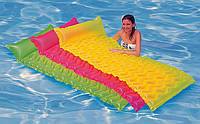 Надувной пляжный матрас Intex 58807 229*86см, матрас для плавания, матрас для купания, матрас Интекс