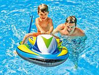 """Надувной плотик для плавания Intex 57520 """"Скутер"""" 117*77см, детский плотик-скутер, надувной плотик для купания"""