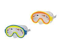 Маска для плавания Intex 55911, маска пловца 2 вида, маска для плавания детская 3-8 лет, подводная маска