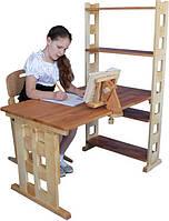 """Детский деревянный письменный стол """"Рэгаль"""" 105см"""