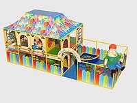 Карлсон. Каркасный лабиринт с крышей. Для детей.