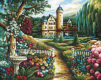 """Картины по номерам «Schipper» (9130391) художественный творческий набор """"Замок летом"""", 50х40 см"""