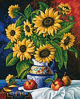 """Картины по номерам «Schipper» (9130308) художественный творческий набор """"Подсолнухи"""", 40х50 см"""