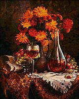"""Картины по номерам «Schipper» (9130663) художественный творческий набор """"Осенние астры"""", 40х50 см"""