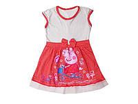 """Платье для девочки """"Свинка Пеппа"""", детская одежда"""