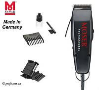 Машинка для стрижки Moser 1400-0087 черная + Насадка HG Polishen