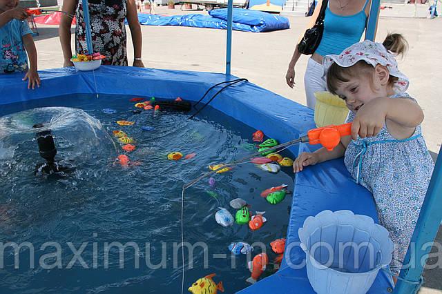 детский аттракцион рыбалка сделать своими руками