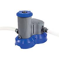 Фильтр насос картриджного типа  для надувных и каркасных бассейнов Bestway BW 58391