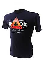 Мужская трикотажная футболка reebok