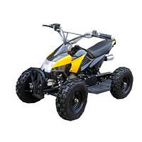 Квадроцикл, мотор 800W, 3 аккум 12V/12A, до 30км/ч, до 100 кг, черн-жел, в кор-ке